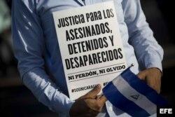 Nicaragüenses reviven el principio de su lucha contra el Gobierno de Ortega