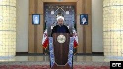 El presidente de Irán, Hasán Rohaní, explica a sus conciudadanos las consecuencias del entendimiento con el Grupo 5+1.