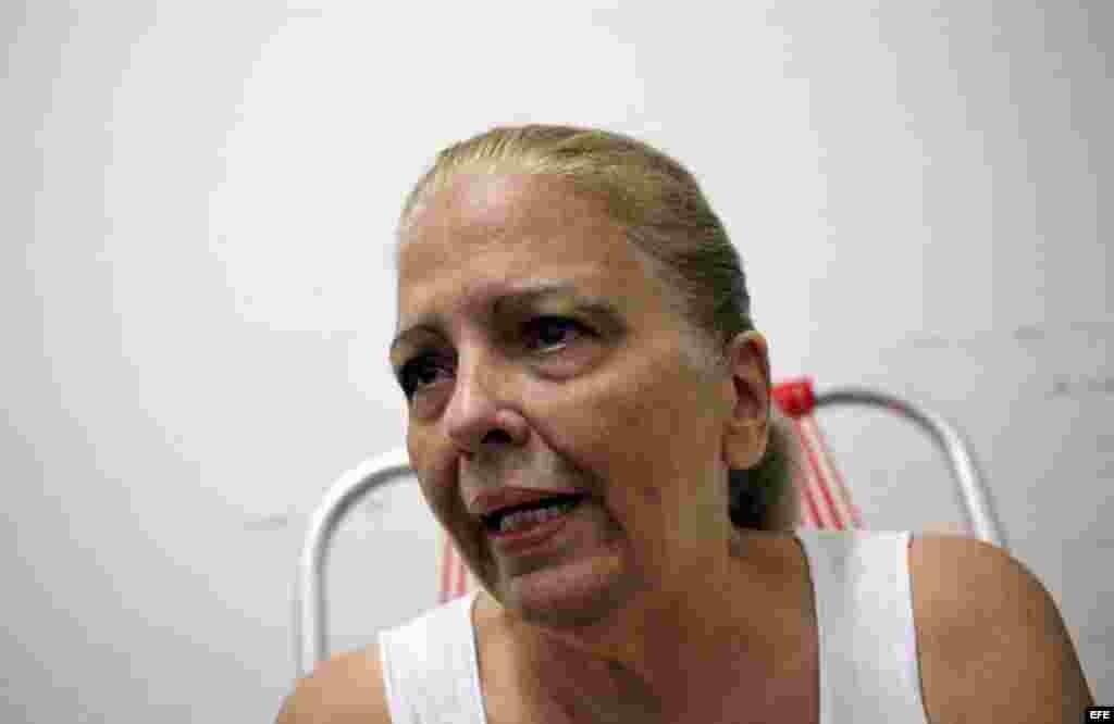 La opositora y expresa política Marta Beatriz Roque