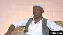 William Potts, musulmán y exmilitante de los Panteras Negras, llevaba 29 años en Cuba cuando regresó a EE.UUpara enfrentar la justicia(foto: CNN).