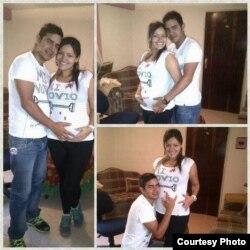 Según sus compañeros de Venevisión, Adriana Urquiola tenía siete meses de embarazo cuando fue muerta por paramilitares en Los Teques, Venezuela.