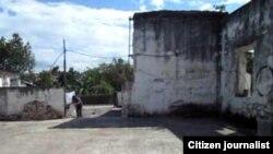 Reporta Cuba Antigua área de papelera en Vueltas Foto Cristianosxcuba.