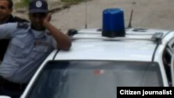 Reporta Cuba. Policía cubana. Foto: Ángel Moya.