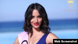 Cubana Brenda Estrada participa en Miss Eco Universe 2016, en Egipto.