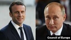 Macron recibe a Putin en Francia
