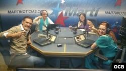 1800 Online con el director de teatro Rolando Tarajano y la actriz Yani Marín Baez.