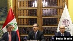 Presentación de candidatura del Perú a la secretaría de la OEA.