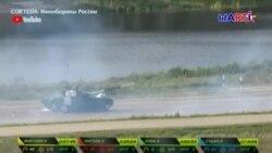 Tanquistas cubanos descalificados en juegos militares de Rusia