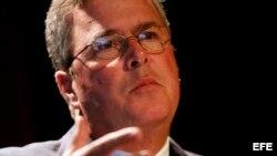 Fotografía de archivo del exgobernador por el estado de Florida Jeb Bush.