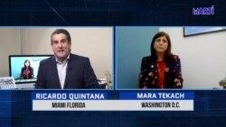En exclusiva Ricardo Quintana, habla de diferentes temas cubanos con la funcionaria del Departamento de Estado, Mara Tekach