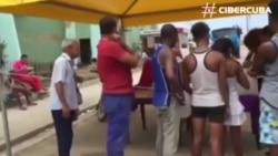 Estado cubano vende comida a los damnificados por Irma