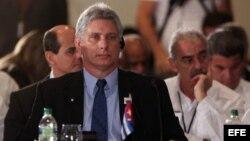 El primer vicepresidente cubano, Miguel Díaz-Canel (Archivo)
