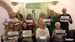Amnistía Internacional recuerda el 50 cumpleaños de Eduardo Cardet.