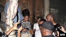 """""""Aténgase a las consecuencias"""": Beyonce en La Habana"""