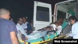 Accidente de tránsito ocurrido en Jatibonico el 26 de diciembre de 2018