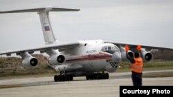 Avión de la Federación Rusa arriba a Santiago de Cuba.