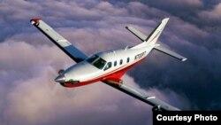 El avión accidentado era un Socata TBM 700 como el de la foto