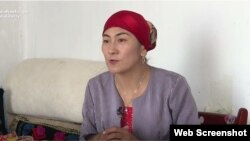 Gulzira Mogdin dice que estaba entre varias mujeres de etnia kazaja en China que fueron obligadas a abortar. (RFE/RL)