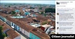 Reporta Cuba. Sancti Spíritus desde la parroquia La Mayor.