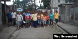 Activistas de UNPACU celebran en las calles el sexto aniversario de la origanización