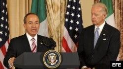 Calderón hace férrea defensa de migrantes y de integración de Norteamérica