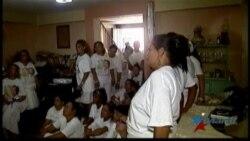 Damas de Blanco interrumpieron marcha dominical en Cuba