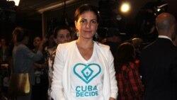 Rosa María Payá represión ente entrega Premio Oswaldo Payá