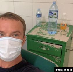 Ruso paciente de COVID-19 en Cuba. Tomado de @tatyana.konkova