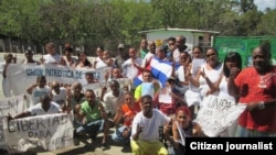 Reporta Cuba Camaguey #DDHHCuba Foto Rosi Maria