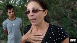 Ofelia Acevedo insiste en tener informes que indican que otro carro perseguía al de los disidentes en el momento de la colisión.