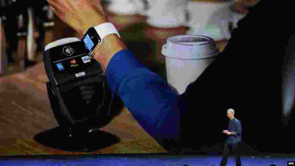 """El reloj inteligente, el Apple Watch descrito como el """"dispositivo más personal""""."""