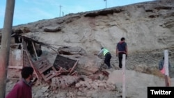 Una víctima mortal se reportó en distrito de Yauca, provincia de Caravelí, a consecuencia del desprendimiento de rocas por el sismo.