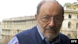 El escritor y filósofo italiano Umberto Eco falleció a los 84 años. EFE