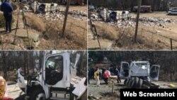 La persona fallecida y el herido grave viajaban en el camión que chocó con el tren.