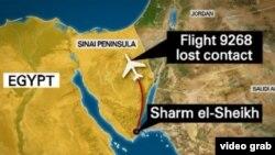 El vuelo 9268 de la aerolínea rusa Kogalimavia cayó a tierra a los 25 minutos de despegar del balneario egipcio de Sharm el Sheikh.