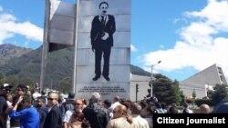 Solidaridad con cubanos en proceso de deportación en Ecuador/Facebook del Movimiento X Cuba.