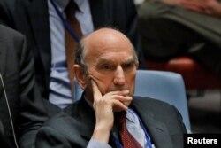 Elliott Abrams , representante especial de Estados Unidos para Venezuela. (Archivo)