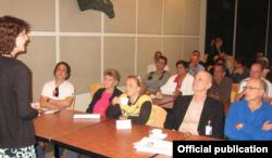USINT organizó una videoconferencia entre periodistas cubanos independientes y el director de Cubanet, Hugo Landa, y su equipo.