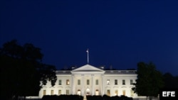 Vista general de la Casa Blanca. Foto de archivo