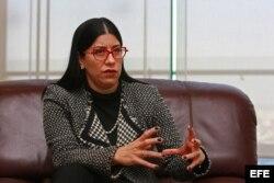 La subsecretaria mexicana de Relaciones Exteriores para América Latina y el Caribe, Vanessa Rubio