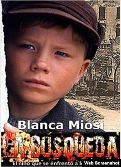 Novela 'La búsqueda'', de la escritora Blanca Miosi (Portada).