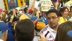Exilio venezolano lleva denuncia a la ONU en Nueva York.