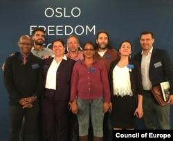 Cubanos en el Foro de Oslo 2016