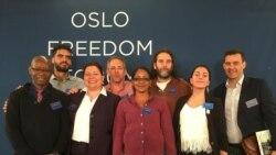 """Cubanos en Foro de Oslo: """"la realidad de Cuba no ha cambiado"""""""