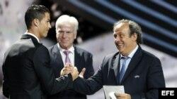 Cristiano Ronaldo, mejor futbolidta del año