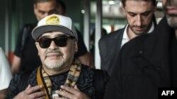 Diego Maradona en Culiacán.
