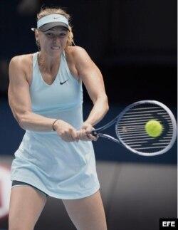 La tenista rusa María Sharapova.