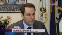 Embajador de EEUU ante OEA reitera apoyo a oposición cubana ante fraude constitucional