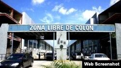 Zona Libre Comercio de Colón, en Panamá.