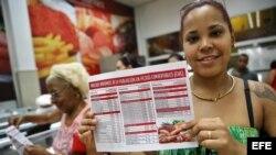 Cubanos celebran rebaja de precios en productos básicos